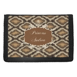 Snake Skin Trifold Wallet (Personalized)