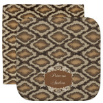 Snake Skin Facecloth / Wash Cloth (Personalized)