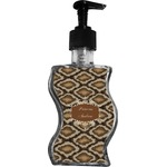 Snake Skin Wave Bottle Soap / Lotion Dispenser (Personalized)
