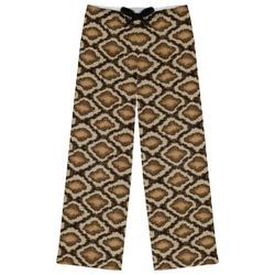 Snake Skin Womens Pajama Pants (Personalized)