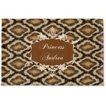 Snake Skin Woven Mat (Personalized)