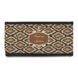 Snake Skin Leatherette Ladies Wallet (Personalized)