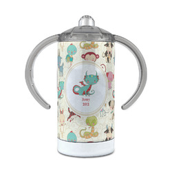 Chinese Zodiac 12 oz Stainless Steel Sippy Cup (Personalized)