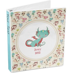 Chinese Zodiac 3-Ring Binder (Personalized)