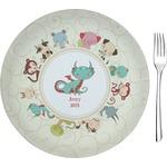 Chinese Zodiac Glass Appetizer / Dessert Plates 8