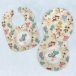 Chinese Zodiac Baby Bib & Burp Set w/ Name or Text