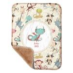 Chinese Zodiac Sherpa Baby Blanket 30