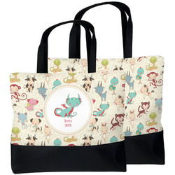 Chinese Zodiac Beach Tote Bag (Personalized)