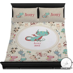 Chinese Zodiac Duvet Cover Set (Personalized)