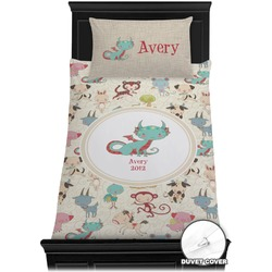 Chinese Zodiac Duvet Cover Set - Toddler (Personalized)