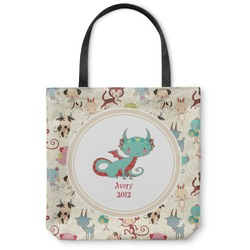 Chinese Zodiac Canvas Tote Bag (Personalized)