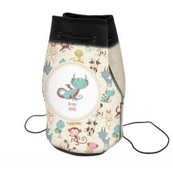 Chinese Zodiac Neoprene Drawstring Backpack (Personalized)