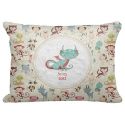 "Chinese Zodiac Decorative Baby Pillowcase - 16""x12"" (Personalized)"