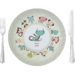"Chinese Zodiac Glass Lunch / Dinner Plates 10"" - Single or Set (Personalized)"
