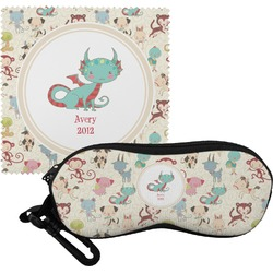 Chinese Zodiac Eyeglass Case & Cloth (Personalized)