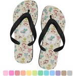 Chinese Zodiac Flip Flops (Personalized)