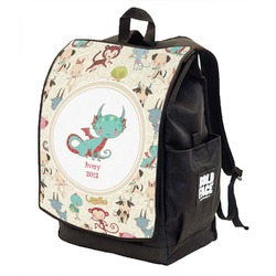 Chinese Zodiac Backpack w/ Front Flap  (Personalized)