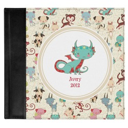 Chinese Zodiac Genuine Leather Baby Memory Book (Personalized)