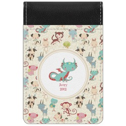 Chinese Zodiac Genuine Leather Small Memo Pad (Personalized)