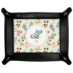 Chinese Zodiac Genuine Leather Valet Tray (Personalized)
