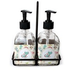 Chinese Zodiac Soap & Lotion Dispenser Set (Glass) (Personalized)