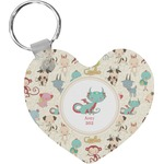 Chinese Zodiac Heart Keychain (Personalized)