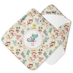Chinese Zodiac Hooded Baby Towel (Personalized)