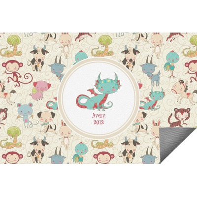 Chinese Zodiac Indoor / Outdoor Rug (Personalized)