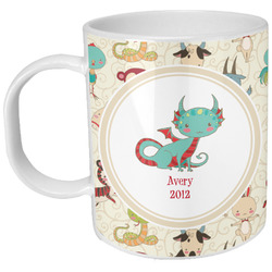 Chinese Zodiac Plastic Kids Mug (Personalized)
