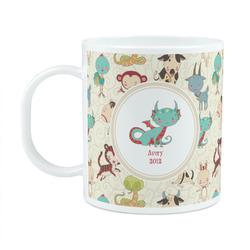 Chinese Zodiac Plastic Kids Mug (Personalized)