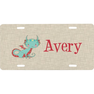Chinese Zodiac Front License Plate (Personalized)