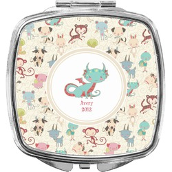 Chinese Zodiac Compact Makeup Mirror (Personalized)