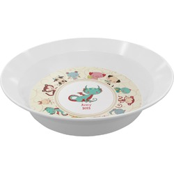 Chinese Zodiac Melamine Bowl (Personalized)