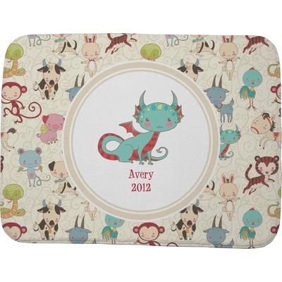 Chinese zodiac memory foam bath mat 48 x36 for Zodiac bathroom accessories