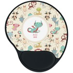 Chinese Zodiac Mouse Pad with Wrist Support