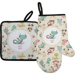 Chinese Zodiac Oven Mitt & Pot Holder (Personalized)