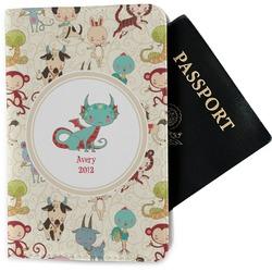 Chinese Zodiac Passport Holder - Fabric (Personalized)