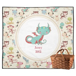 Chinese Zodiac Outdoor Picnic Blanket (Personalized)