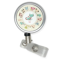Chinese Zodiac Retractable Badge Reel (Personalized)