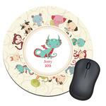Chinese Zodiac Round Mouse Pad (Personalized)