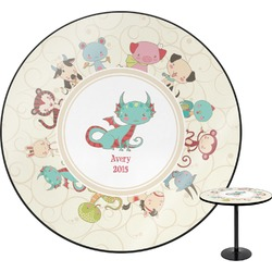 "Chinese Zodiac Round Table - 30"" (Personalized)"