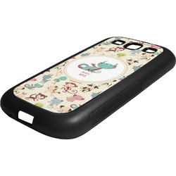 Chinese Zodiac Rubber Samsung Galaxy 3 Phone Case (Personalized)