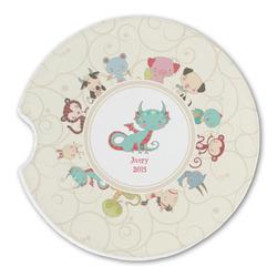 Chinese Zodiac Sandstone Car Coasters (Personalized)