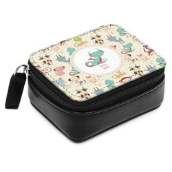 Chinese Zodiac Small Leatherette Travel Pill Case (Personalized)
