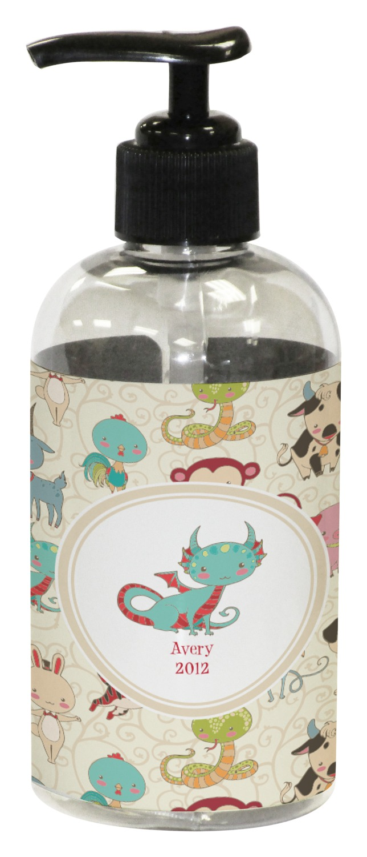 Chinese zodiac plastic soap lotion dispenser for Zodiac bathroom accessories
