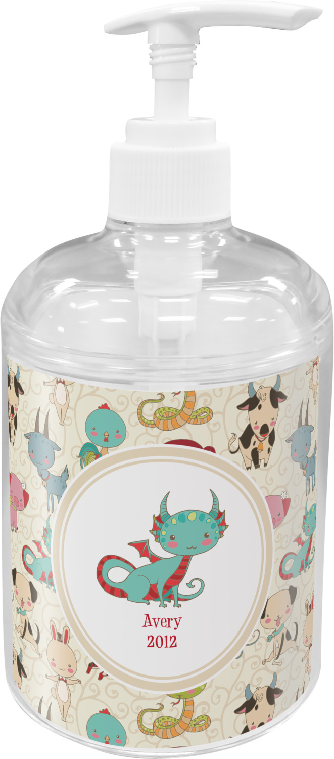 Chinese Zodiac Soap / Lotion Dispenser (Personalized) - YouCustomizeIt