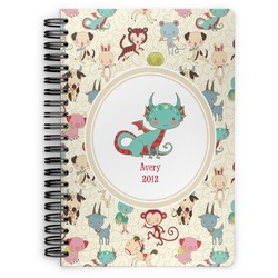 Chinese Zodiac Spiral Bound Notebook - 7x10 (Personalized)