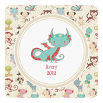 Chinese Zodiac Square Decal (Personalized)