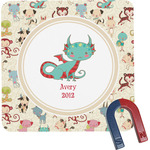 Chinese Zodiac Square Fridge Magnet (Personalized)