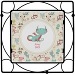 Chinese Zodiac Square Trivet (Personalized)